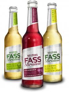 Veltins Fassbrause erfrischt alkoholfrei