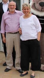 John und Sigrid Stjerneby vom PlanungsbA?ro Stjerneby