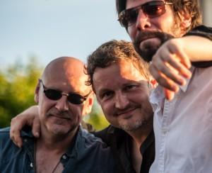 Kai, Volker und Sebastian auf dem Musikcamp in der Jugendherberge Schillighörn (Foto: Teichmann)