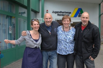 Ein gutes Team: Nele, Kai, Gesa und Thorsten