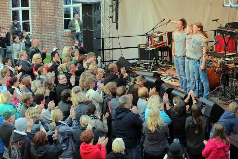 Lautstark beim OLB MUSIK-CAMP NORDWEST in der Jugendherberge Leer