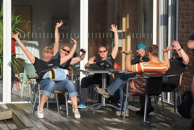 Treue Fans beim OLB MUSIK-CAMP in der Jugendherberge Norderney