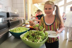 Veggieday in der Jugendherberge