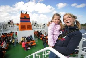 Nordseeurlaub beginnt schon auf der FAi??hre