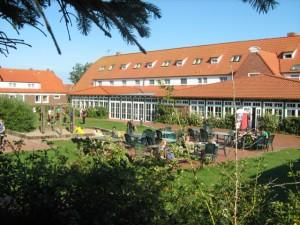 Die Jugendherberge Juist liegt im westlichen Ortsteil Loog auf der Insel Juist