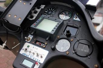 Segelflieger Flugzeug Armatur
