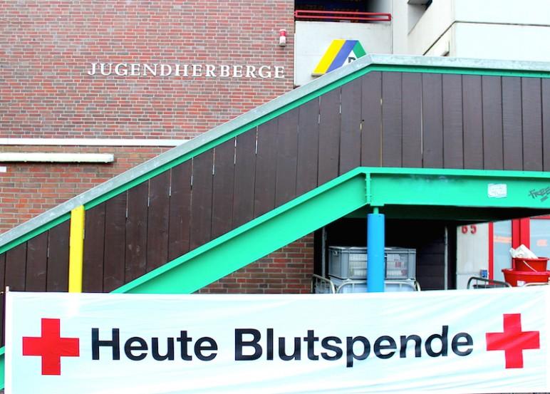 Jugendherberge Oldenburg DRK Blutspende
