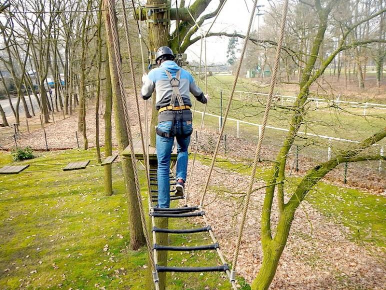 6 Meter Parcours Kletterpark Verden