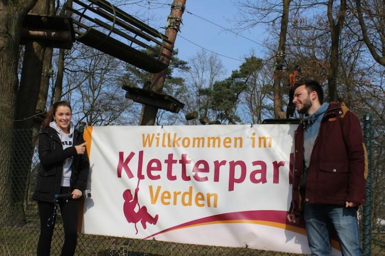 Ankunft Ketterpark Verden Jugendherberge