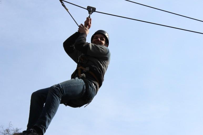 Seilbahn Kletterpark Verden