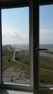 Zimmer mit Aussicht - im Westturm der Jugendherberge Wangerooge