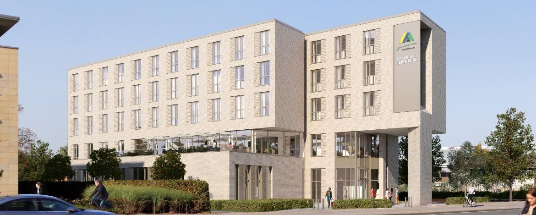 Neue Jugendherberge Oldenburg-Aussenansicht